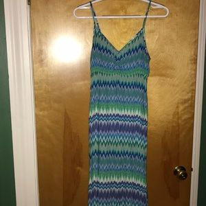 Final price Multi colored maxi dress